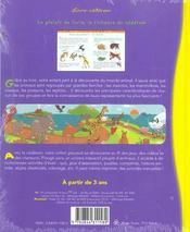 Raconte-moi les animaux - 4ème de couverture - Format classique
