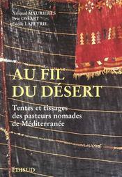 Au Fil Du Desert - Intérieur - Format classique