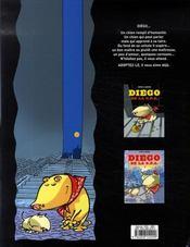 Diego de la s.p.a. t.3 - 4ème de couverture - Format classique
