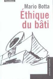 Ethique Du Bati - Intérieur - Format classique