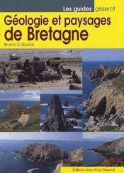 Geologie Et Paysages De Bretagne - Couverture - Format classique
