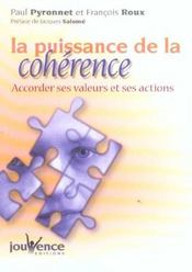 Puissance de la coherence (la) - Intérieur - Format classique
