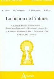 La Fiction De L'Intime - Intérieur - Format classique
