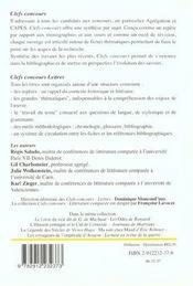 La Fiction De L'Intime - 4ème de couverture - Format classique