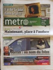 Metro Paris N°2182 du 26/03/2012 - Couverture - Format classique