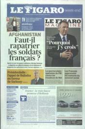 Figaro (Le) N°20986 du 21/01/2012 - Couverture - Format classique