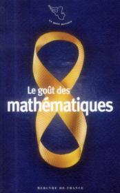 Le goût des mathématiques - Couverture - Format classique