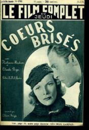 Le Film Complet Du Jeudi N° 1762 - 15e Annee - Coeurs Brises - Couverture - Format classique
