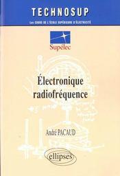 Electronique Radiofrequence - Intérieur - Format classique