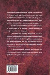 Amulettes Et Talismans. Rituels Incantations Et Sortileges - 4ème de couverture - Format classique