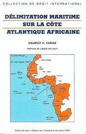 Délimitation maritime sur la côte atlantique africaine - Intérieur - Format classique