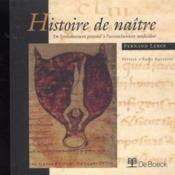 Histoire De Naitre - Couverture - Format classique
