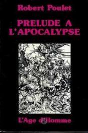 Prelude A L'Apocalypse - Couverture - Format classique