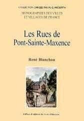 Pont Sainte Maxence (Les Rues De) - Couverture - Format classique