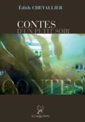 Contes D'Un Petit Soir - Couverture - Format classique