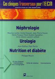 Néphrologie, urologie, nutrition et diabète - Intérieur - Format classique