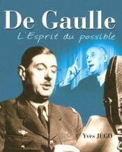 De Gaulle, l'esprit du possible - Couverture - Format classique