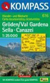 Val gardena sella canazei - Couverture - Format classique