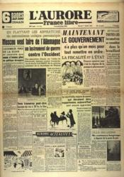 Aurore France Libre (L') N°1311 du 01/12/1948 - Couverture - Format classique