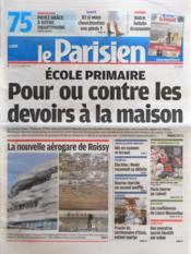 Parisien 75 (Le) N°21005 du 26/03/2012 - Couverture - Format classique