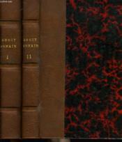 PRECIS DE DROIT ROMAIN EN 2 TOMES. TOME 1: 3e EDITION / TOME 2: OBLIGATIONS. 2e EDITION. - Couverture - Format classique