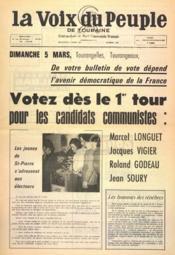 Voix Du Peuple De Touraine (La) N°1336 du 05/03/1967 - Couverture - Format classique
