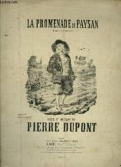 La Promenade Du Paysan - Chanson Rustique Pour Piano Et Chant. - Couverture - Format classique