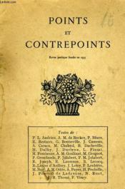 Points Et Contrepoints N°14 - Couverture - Format classique