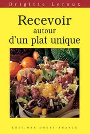 Recevoir autour d'un plat unique - Intérieur - Format classique