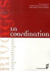 La coordination - Intérieur - Format classique