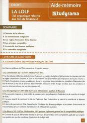 La Lolf - Intérieur - Format classique