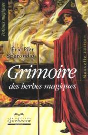Grimoire Des Herbes Magiques - Couverture - Format classique