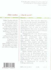 A Bas Le Savoir! - 4ème de couverture - Format classique