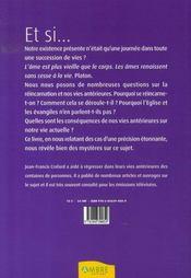 Expériences de vies revécues ; réponses fondamentales sur la réincarnation - 4ème de couverture - Format classique