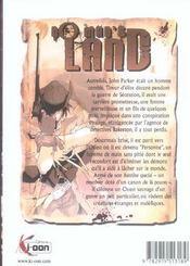 No Man'S Land T01 - 4ème de couverture - Format classique