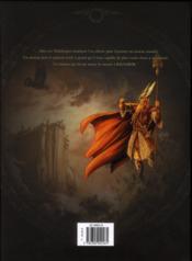 Le crépuscule des dieux ; intégrale t.4 à t.6 - 4ème de couverture - Format classique