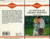 Le Retour De Thomas Whitney - Winter Roses - Couverture - Format classique