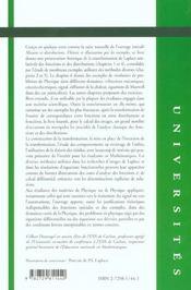 Transformations De Laplace Theorie Et Illustrations Par Les Exemples - 4ème de couverture - Format classique
