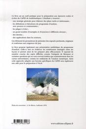 Face au jury du capes ; préparer les leçons d'analyse ; l'oral du capes de mathématiques - 4ème de couverture - Format classique