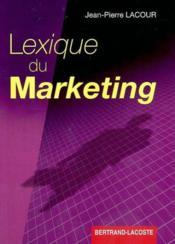 Lexique du marketing - Couverture - Format classique