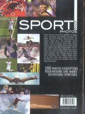 Sport photos (édition 2006) - 4ème de couverture - Format classique