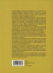 L'hostie profanée ; histoire d'une fiction théologique - 4ème de couverture - Format classique