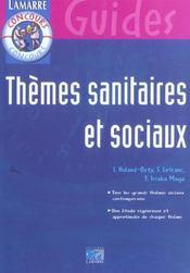 Themes sanitaires et sociaux - Intérieur - Format classique