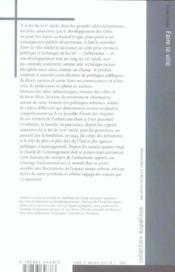 Faire La Ville, Les Metiers De L'Urbanisme Au Xx Siecle - 4ème de couverture - Format classique