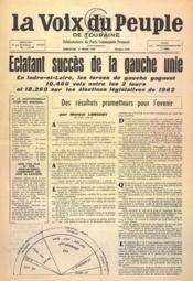 Voix Du Peuple De Touraine (La) N°1338 du 19/03/1967 - Couverture - Format classique