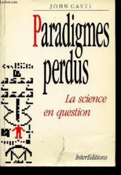 Paradigmes Perdus - Couverture - Format classique