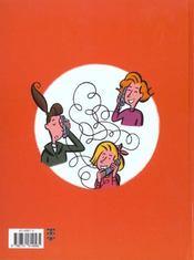 Henriette T.3 ; Trop Potes - 4ème de couverture - Format classique