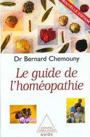 Le Guide De L'Homeopathie - Intérieur - Format classique