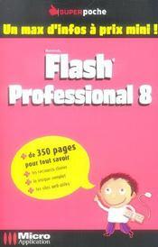 Flash® professional 8 - Intérieur - Format classique
