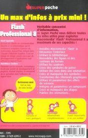 Flash® professional 8 - 4ème de couverture - Format classique